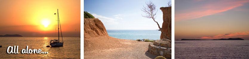 Idyllisch-Ibiza-najaar-niemand