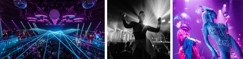 Hi Ibiza club dansen