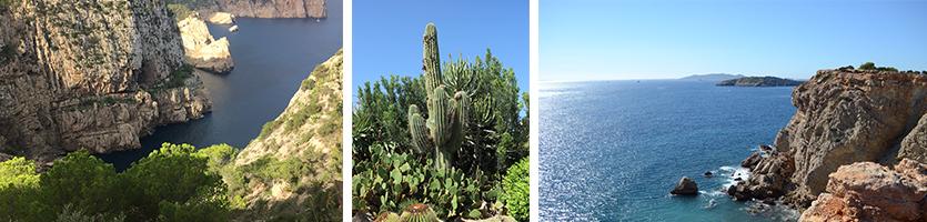 Ibiza mooi uitzicht wandelen