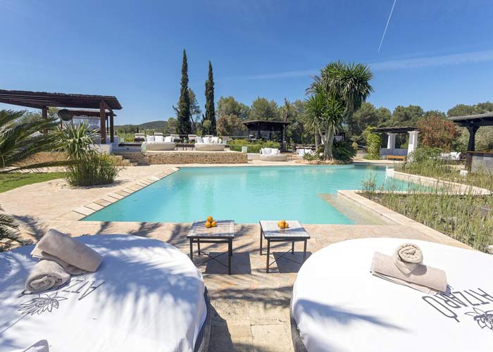 Agroturismo Atzaró Ibiza zwembad