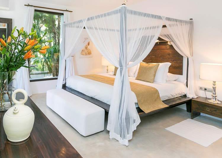 Agroturismo Atzaró Ibiza slaapkamer