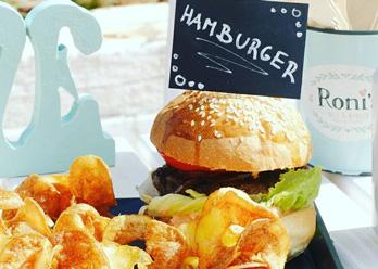 Roni´s deli hamburger