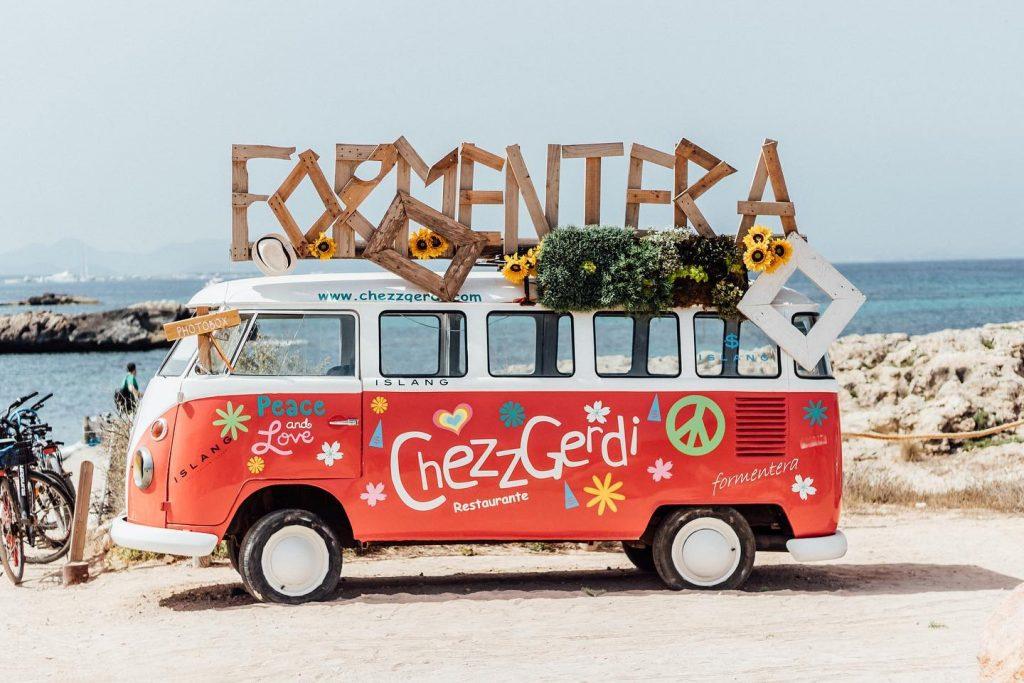 Chezz Gerdi op Formentera: een echte hotspot!