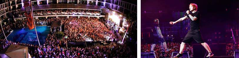 Live muziek Hard Rock Ibiza