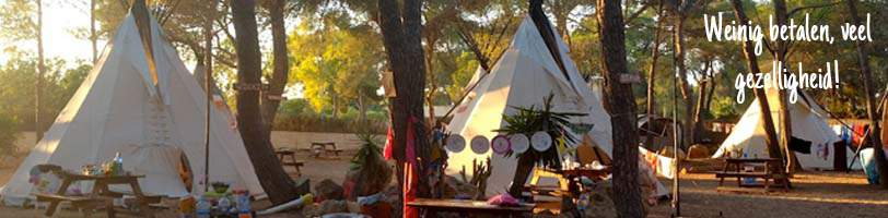 low budget camping ibiza