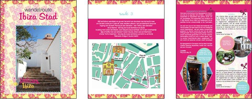 Voorbeeld wandelroute Ibiza Stad